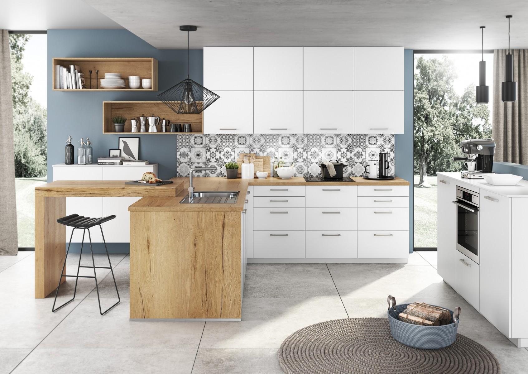 Artego Küche Holz