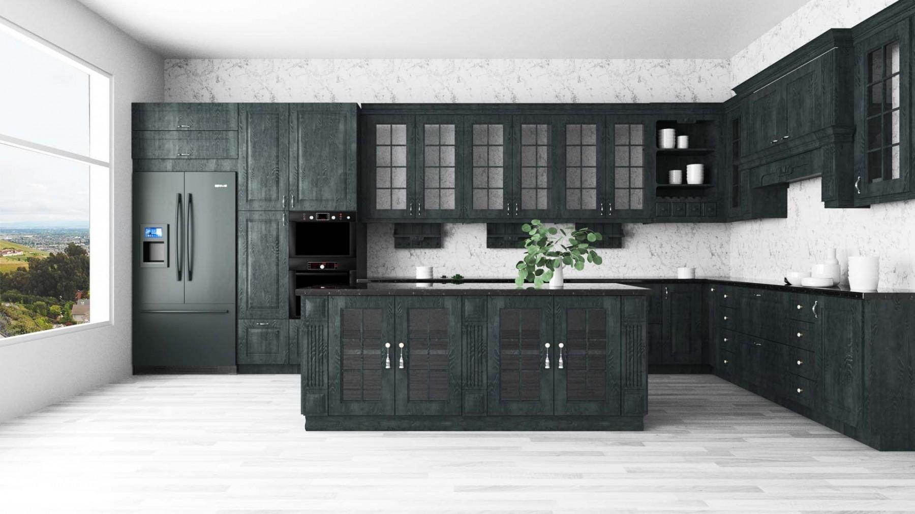 Holzküche Modern